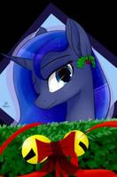 Christmas Luna by Dashy21