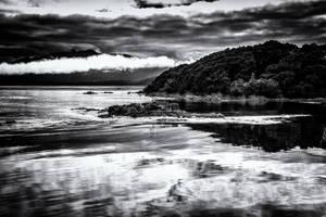 Sarah Island BW by Questavia