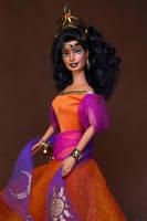 Esmeralda OOAK doll by RYfactory