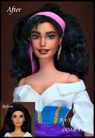 Esmeralda OOAK doll 2 by RYfactory