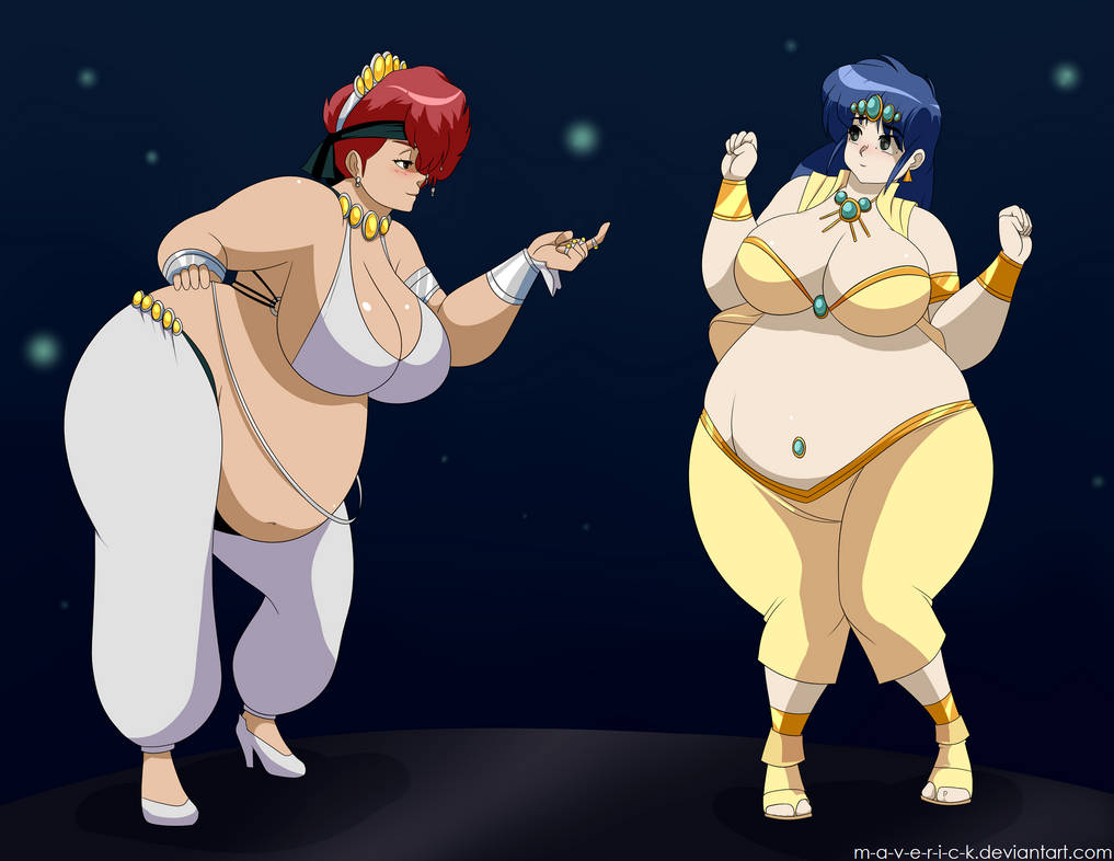 [Image: bbw_dirty_pair_harem_dancers_1_of_2_by_m...ue-pre.jpg]