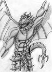 Angry Dragonknight by The-5