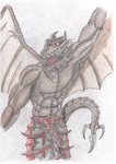 Angy Dragonknight coloured by The-5