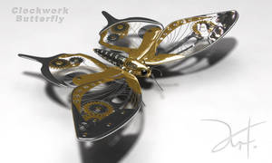 Clockwork Butterfly by The-5