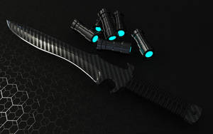 Combat Knife - Futuristic by The-5