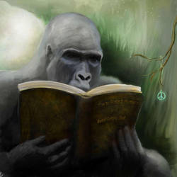 Gorilla by Mandarinoveck