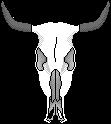 Cow Skull pixel art by DudemanThingface