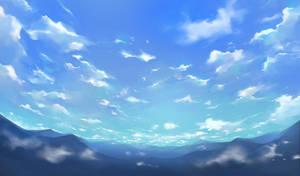 endless sky by feeshseagullmine