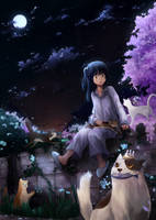 Midnight Gathering by feeshseagullmine