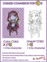 Commision Chibi ID OFFER by Daeshagoddess