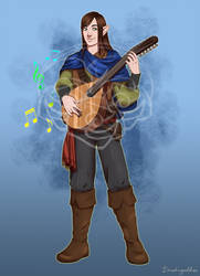 Bard by Daeshagoddess
