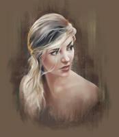 Portrait Study by ImRachelBradley