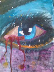 watercolor painting by Merynux