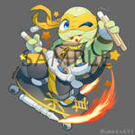 SD Mikey by tamaume