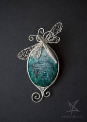Swamp brooch by MissAnnThropia