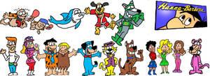 Hanna Barbera by Pelswick234