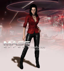 Miranda Lawson Sexy Casual Download by psychicsocial