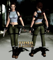 Lara Croft AOD Concept Outfit by psychicsocial