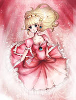 Peach Hime by DarienDoodles