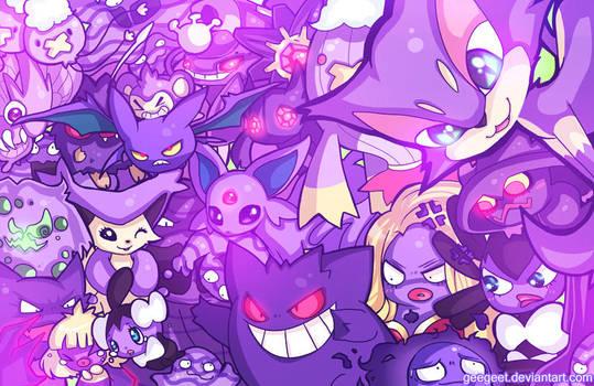 Purple Party by DarienDoodles