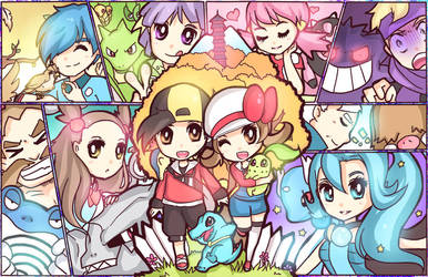 Let's Play! Johto! by DarienDoodles
