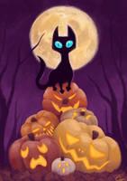 Atop the Pumpkin Pile by sleepyotter