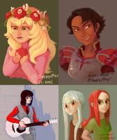 Twitter Paintings by sleepyotter