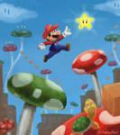 Mario by sleepyotter