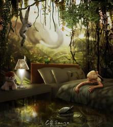 About childhood dreams III by genivaldosouza