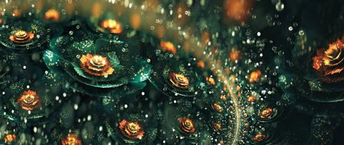 Pop of Orange by SallySlips
