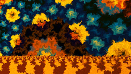 Fractally Night by SallySlips
