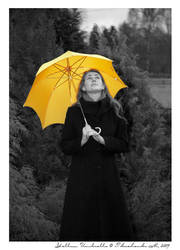 Yellow Umbrella by tkach