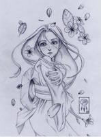 Kawaii Girl by JanayaDanielle