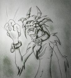 Sketch - Jealousy by hunterbahamut