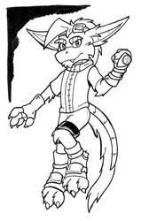Concept - Alternate Outfit Zech by hunterbahamut