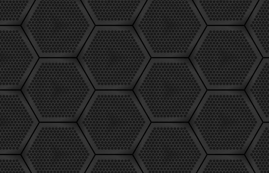 Hex Grid Wallpaper 01- no mask by adoomer