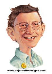 Bill Gates as Alfred E. Neuman by DeJarnette