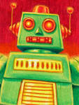 'Small Robot B' by DeJarnette
