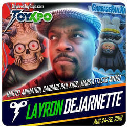 I'm a guest at ToyXpo Aug 24-26  Santa Clara, CA by DeJarnette
