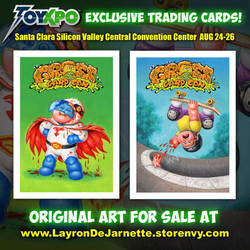 FOR SALE Original Art and Exclusive Trading Cards! by DeJarnette
