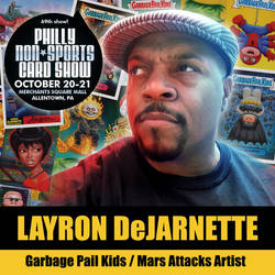 I'll be at Philly Non-Sports Card Show Oct 20-21 by DeJarnette