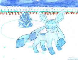 Guardian of the Ice Rock by PKMNAdventurer