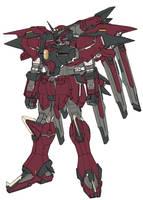 TSX-08R SERAPH Gundam - Com by csy5150