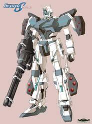 Gundam SEED A-STAR - TTSX-GS11 KASANAAT-ARMED by csy5150