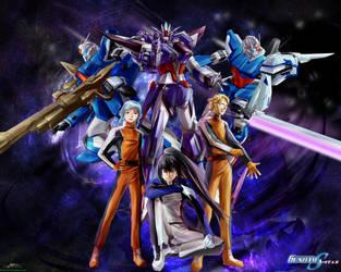 Gundam SEED A-STAR - TEAM PURPLE ROSE(1) - by csy5150