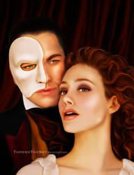 Phantom of the Opera: Erik and Christine by ThreshTheSky