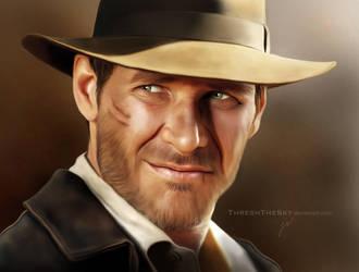 Indiana Jones by ThreshTheSky