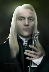 Harry Potter: Lucius Malfoy by ThreshTheSky