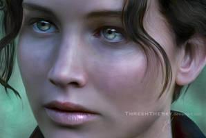The Hunger Games: Katniss Everdeen by ThreshTheSky