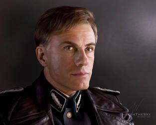 Inglorious Basterds: Hans Landa by ThreshTheSky